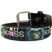 144 Units of Adult Unisex Studded Belt Kiss - Unisex Fashion Belts