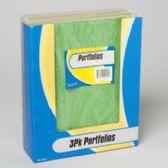 64 Units of 3 Pack Solid Colors Portfolio