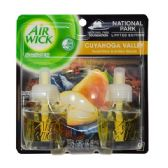 24 Units of Airwick Scented Oil 2PK Sweet pear & Amber Woods - Air Freshener
