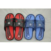 36 Units of Men's Two Tone Color Shower Beach Slipper