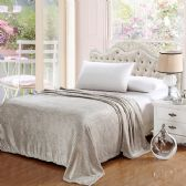 12 Units of The Premium Collection 100% Polyester Full Size Blankets Gray - Bedding Sets