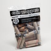 100 Units of Coin Wrapper - Assortment 36 Cnt - Coin Holders/Banks/Counter