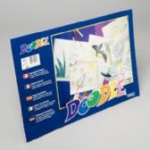 36 Units of Doodle Pads 18x12 Inch 36 Ct White - Sketch, Tracing, Drawing & Doodle Pads