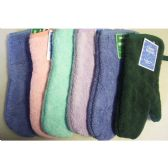"144 Units of 13"" Terry Solid Heavy Oven Mitt - assts - Oven Mits & Pot Holders"