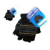 288 Units of Gloves Men 1pr 4asst Color - Winter Gloves