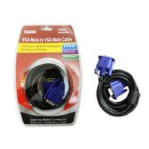 60 Units of Vga Cable Male To Male 6ft - Headphones and Earbuds