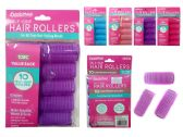 144 Units of Hair Roller Cling 10pc/Set 32mm Asst - Hair Rollers