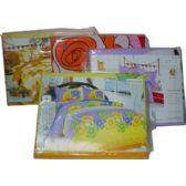 24 Units of 4 PCS Bedclothes Set Full Size - Bed Sheet Sets