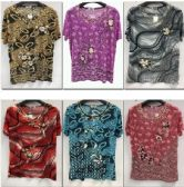 144 Units of Women's Floral Fashion Top - Womens Fashion Tops