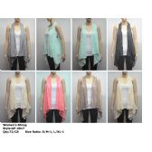 72 Units of Womens Fashion Shrug Assorted Colors And Sizes - Womens Fashion Tops