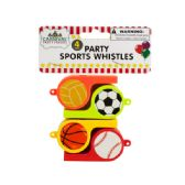 72 Units of Party Sports Whistles - Party Favors