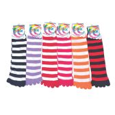 120 Units of Womens Fur Lined Cotton Socks Assorted Color