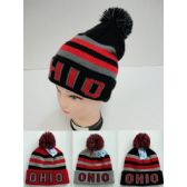 12 Units of Knitted Toboggan Hat [OHIO]