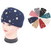 120 Units of HEADBAND WITH RHINESTONE-WIDE SIZE - Ear Warmers