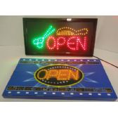 4 Units of Light Up Sign- OPEN [Scissors & Comb]