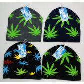 24 Units of Marijuana Beanie Hat - Winter Beanie Hats
