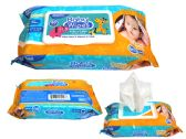 48 Units of 80 Count Baby Wipes With Rect. Flip Top Lid - Baby Beauty& Care Items