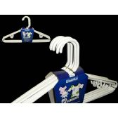 48 Units of 8pc White Adult Hangers - Hangers