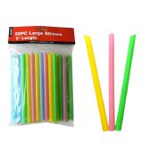 "24 Units of Straws Large 50pc 0.4"" D X9"" H - Straws and Stirrers"