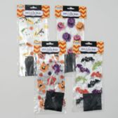 96 Units of Loot Bags Cello Halloween 20ct Rect 4asst Designs