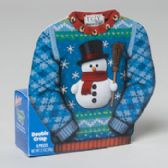 96 Units of Candy Ugly Sweater Double Crisp Counter Display 2 Oz - Christmas Novelties