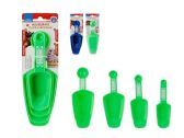 72 Units of 4 Pc Measuring Cup & Spoon Set - Kitchen > Accessories