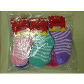 120 Units of CHILDREN FUZZY SOCKS - Girls Crew Socks