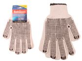 144 Units of Working Gloves 1pr W/Pvc Dot - Working Gloves