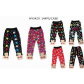 72 Units of Girls Printed Leggings Assorted Sizes - Girls Leggings
