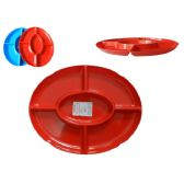 48 Units of Tray Oval 5 Part - Kitchen Trays
