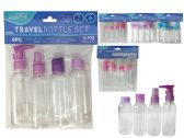 96 Units of 4pc Travel Bottle Set - Travel & Luggage Items