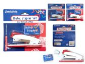 72 Units of 2 Piece Stapler+200 Staples Packing - Staples and Staplers