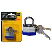 144 Units of Lock 30mm Laminated2pc Steel Key - Padlocks and Combination Locks