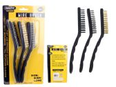 72 Units of 3pc Wire Brushes - BBQ supplies