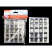 96 Units of Multipurpose Box Case Transp 15.5*11.5*3cm