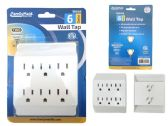 144 Units of ETL UL Std. Outlet Adapter 6 Plugs