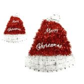 96 Units of Santa Hat Garland - Hanging Decorations & Cut Out