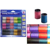 96 Units of Sewing Thread 30pcs - SEWING THREAD