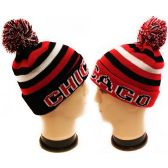 36 Units of ''Chicago'' Winter Knitted Beanie Hat - Winter Beanie Hats