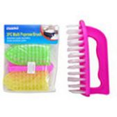 96 Units of 3 Piece Multi Purpose Brush