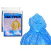144 Units of Adult One Size Poncho - Umbrella