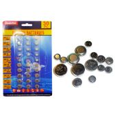 144 Units of 30pc Assorted Button Batteries