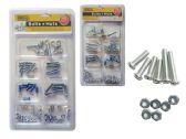 96 Units of Bolts+Nuts 150 Gm
