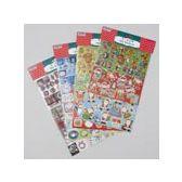 96 Units of Christmas Sticker - Christmas Novelties
