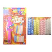 144 Units of Candle Happy Birthday 26pc/Set - Birthday Candles
