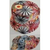 12 Units of Bucket Hat [Lg Floral] - Bucket Hats