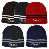 48 Units of Winter Hat Sport Assorted Colors