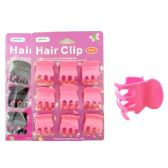 144 Units of 9 Piece Hair Clips - Hair Accessories