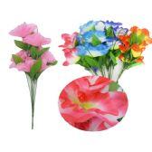 144 Units of 7 Head Flowerv - Artificial Flowers