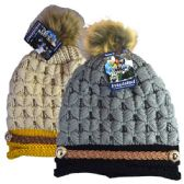 48 Units of Winter Hat Pom Pom Knit